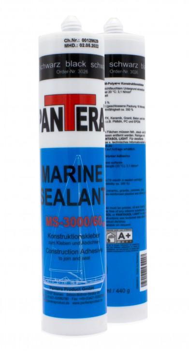 MARINE SEALANT MS-3000/60 V2 schwarz 290ml