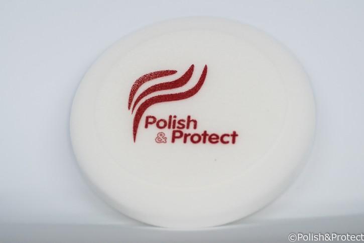 Profi-Polierschwamm 150mm weiß / medium
